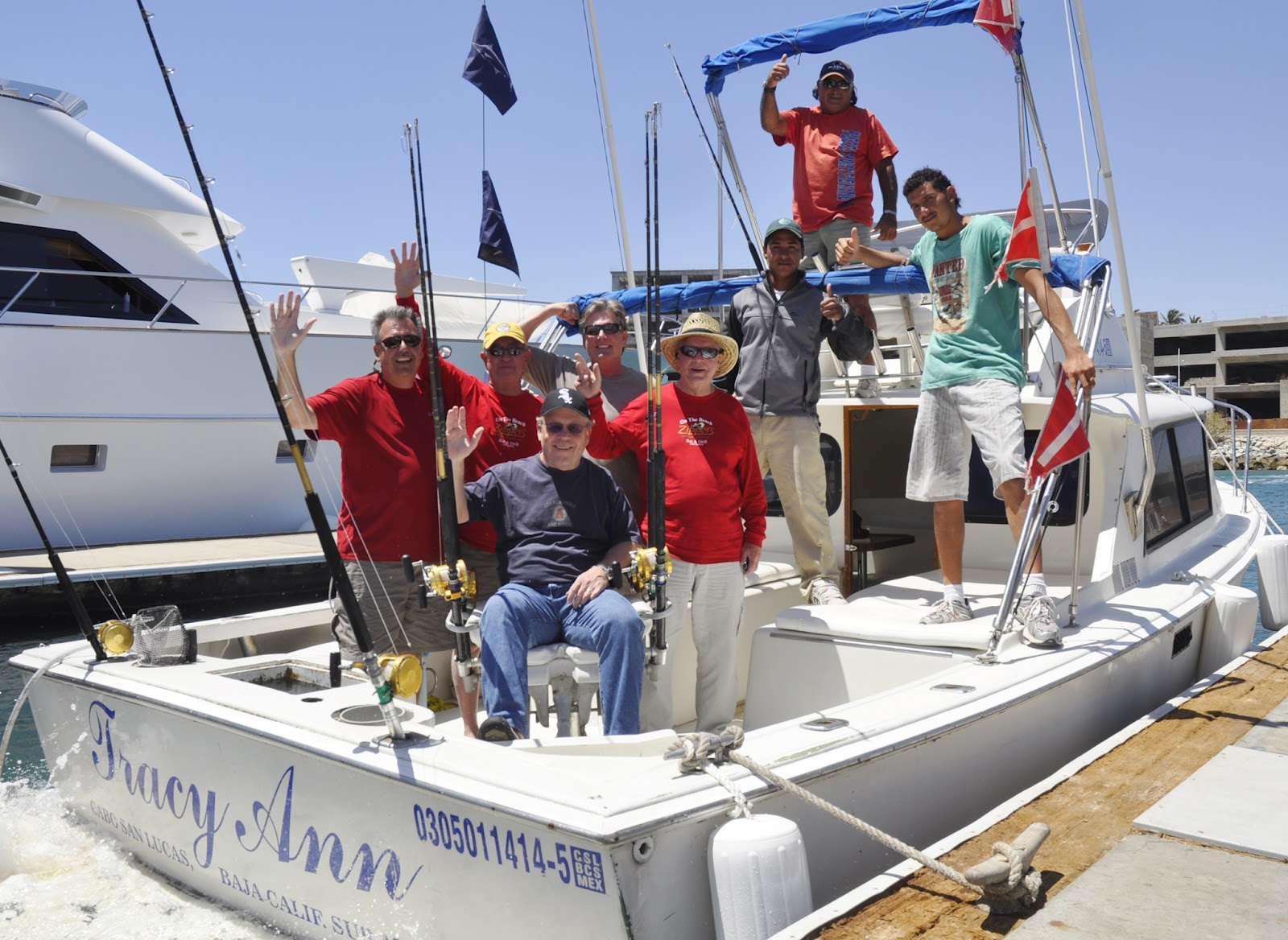 Eagle sports meetings and travel for Fishing in cabo